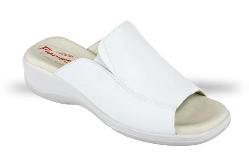 1b339452fcd92 Klapki Damskie Piumetta 3176 białe - chodaki, buty robocze i ...