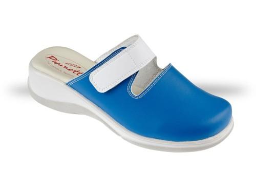 32efd4f8779a2 Saboty Damskie Piumetta 3184 niebieskie - chodaki, buty robocze i ...